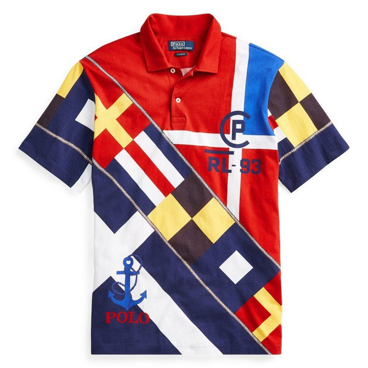 CP-93航海系列polo衫。圖/Ralph Lauren提供
