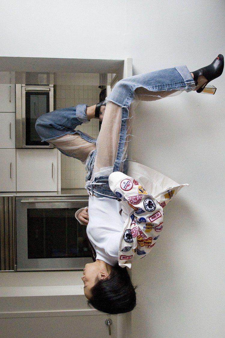 Christina Paik在巴黎居住期間拍攝的每周二的自己。圖/The Roo...