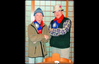 醫師周希諴(右)與父親合影。圖/周希諴提供