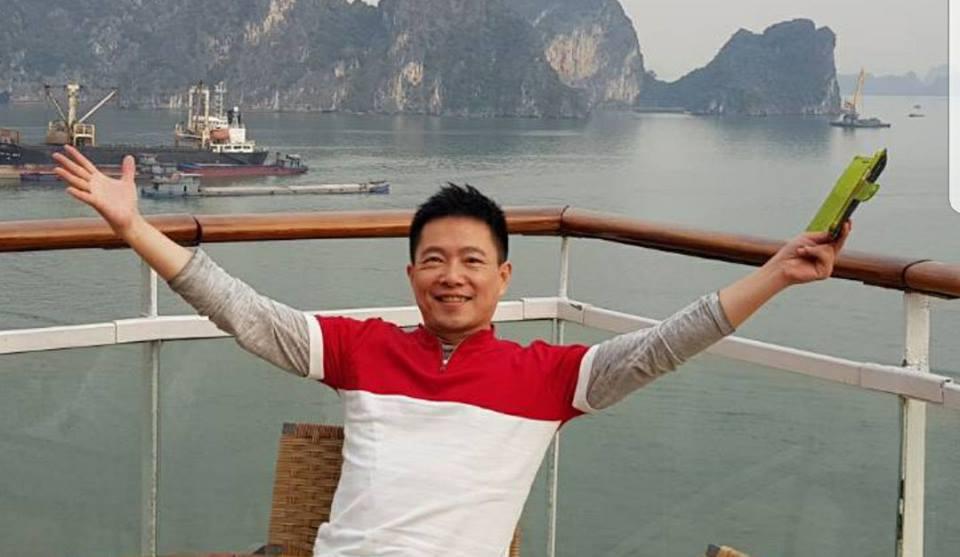 退休後他都在郵輪上享受人生。圖/蘇逸洪臉書