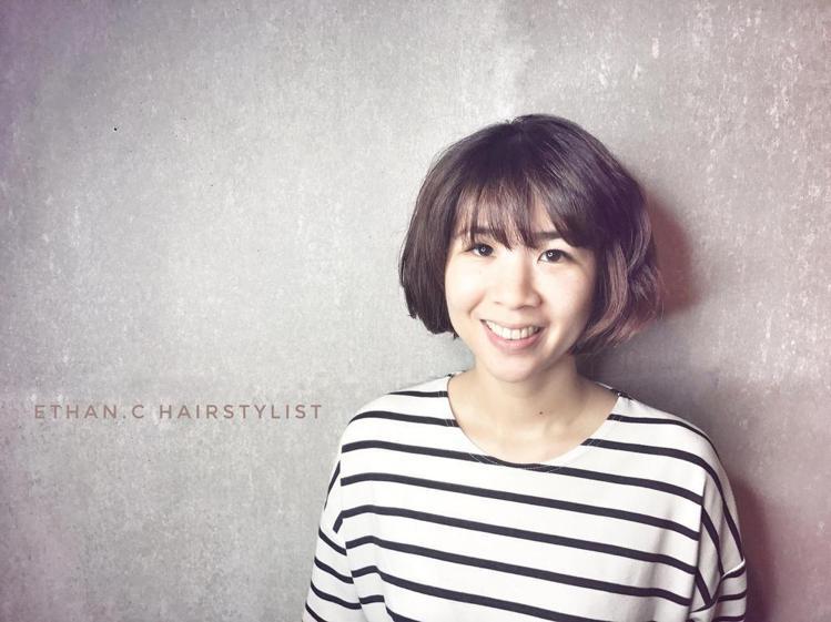 髮型創作/Ethan Chang 。圖/StyleMap提供