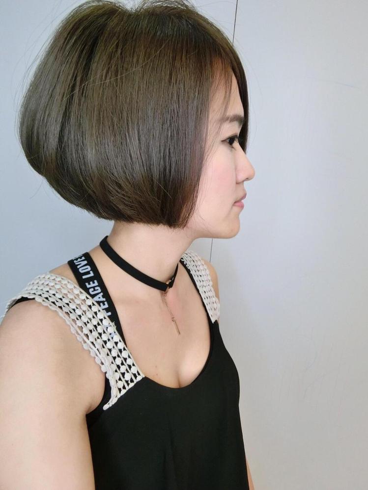 髮型創作/林貝蒂 。圖/StyleMap提供