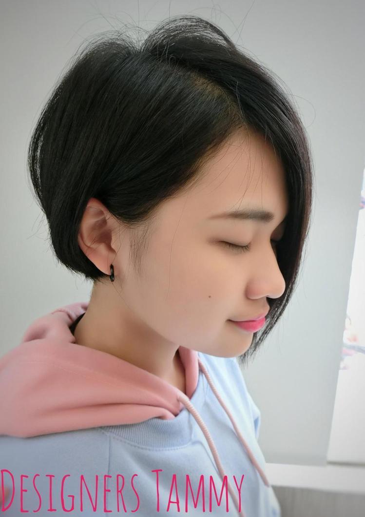 髮型創作/Sunyoung Tammy泰米。圖/StyleMap提供