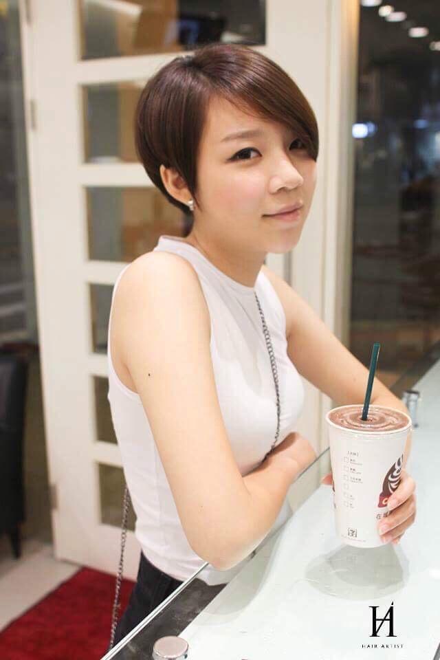 髮型創作/Aaron Yang 。圖/StyleMap提供