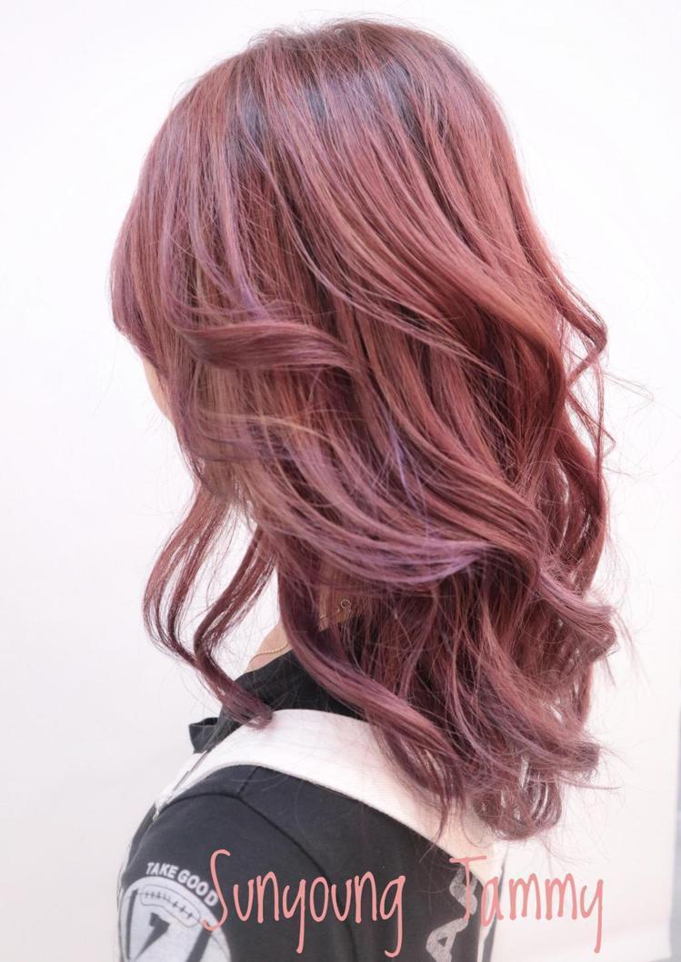髮型創作/Sunyoung Tammy 泰米。圖/StyleMap提供