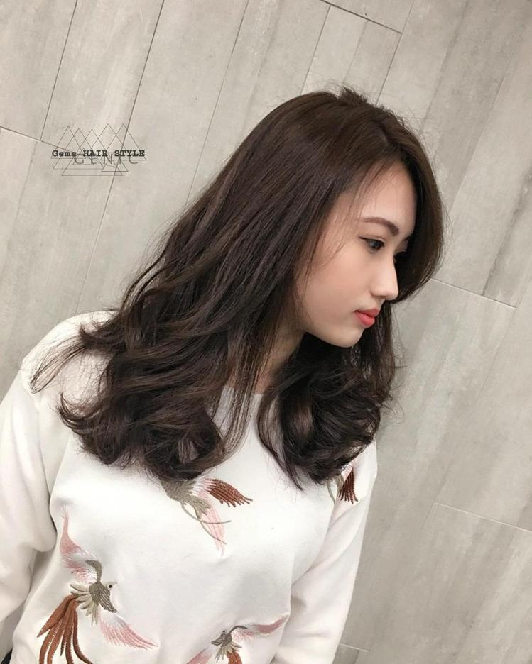 髮型創作/Gems Hair Style。圖/StyleMap提供