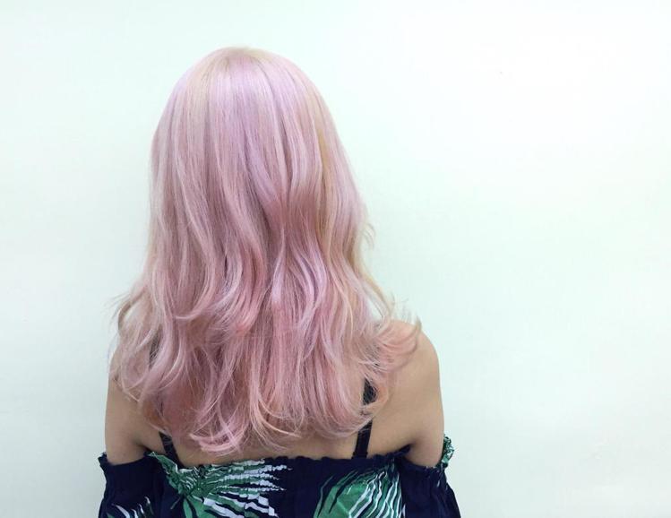 髮型創作/魔女安柏。圖/StyleMap提供