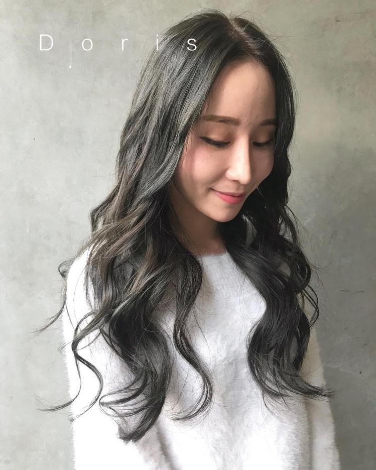 髮型創作/尤拿二館Doris。圖/StyleMap提供