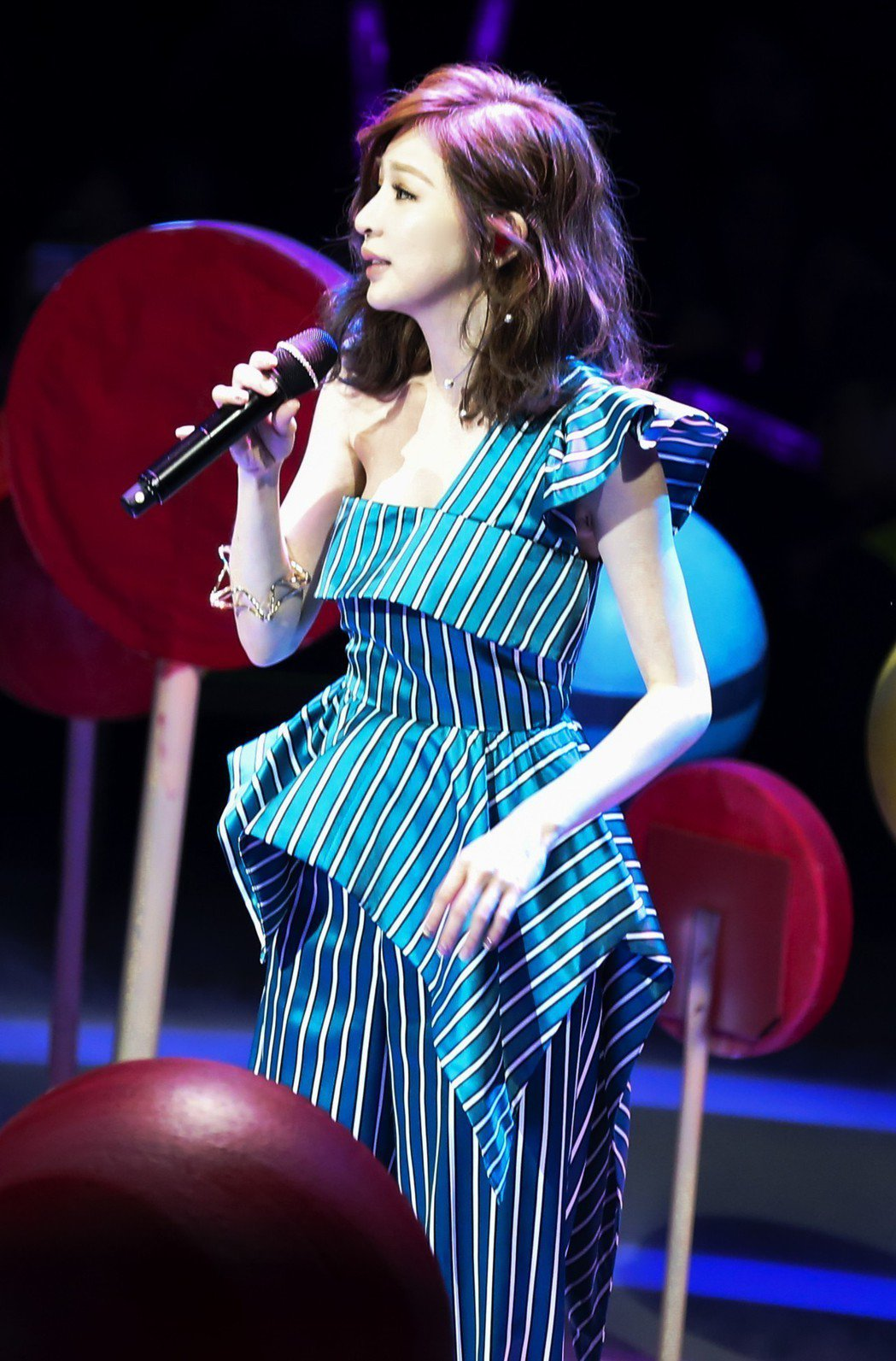 王心凌出席「QQ炫舞10周年盛典」。圖/天晴娛樂提供