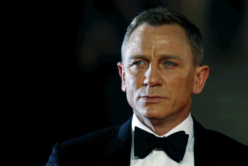 丹尼爾克雷格接演「龐德25」,據傳可賺進近台幣20億元的酬勞。圖/路透資料照片