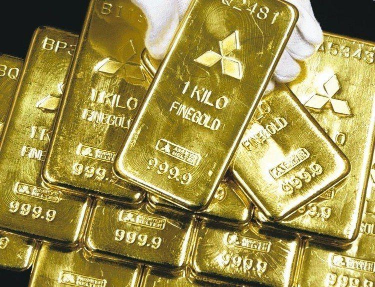 法人表示,金價短線易漲難跌。聯合報系資料照