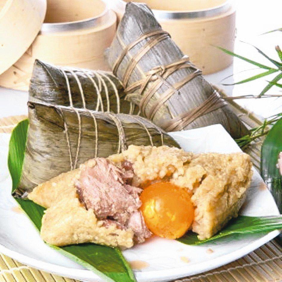 立家潮州蛋黃鮮肉粽 OKmart/提供