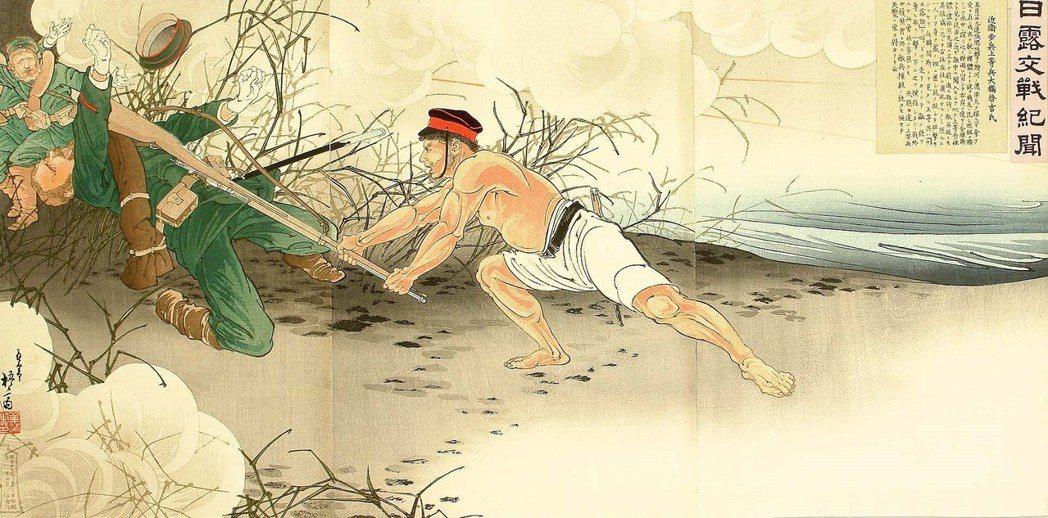 日本就是當時東洋唯一打敗西方帝國主義的列強,也曾經是中國復興的希望。圖為右田年英...