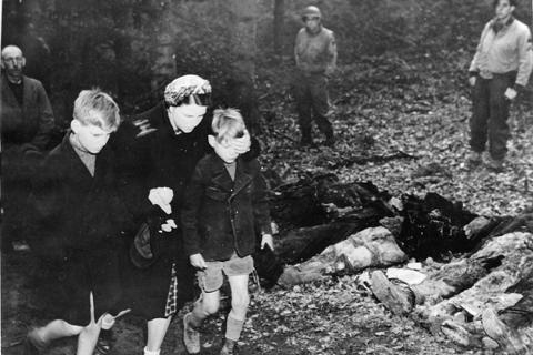 在德國歷史教育中,除了俄羅斯之外,其他東歐國家只不過是德國暴行的客體。圖為德國蘇...