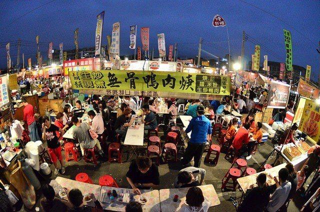 台南花園夜市 Flickr