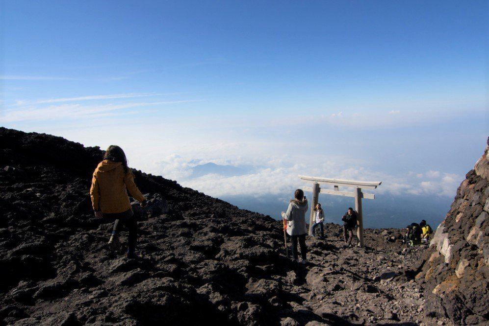 ▲富士山登頂。(圖/攝影者:stan chow, Flickr CC Licen...