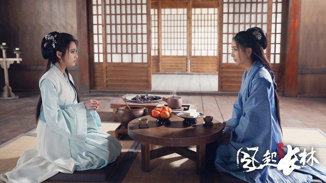 「琅琊榜 風起長林」戲中有不少道具茶點,足以令人發胖。圖/緯來戲劇台提供