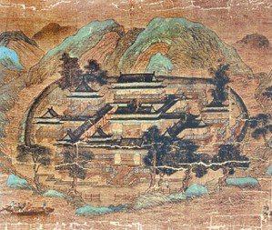 圖四:王維〈輞川圖〉。 蔣勳 圖片提供