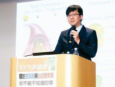 台大醫院心臟內科主治醫師林柏志。 記者王騰毅/攝影