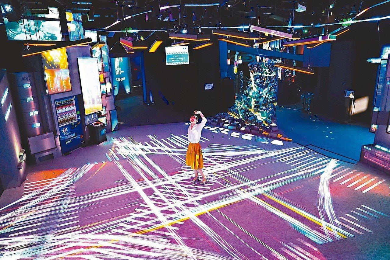 「光影東京!360度夢幻視覺系特展」將於六月開展。 圖/聯合數位文創提供