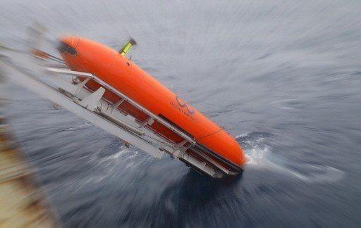 無限海洋公司用來搜索的自主水下載具。 歐新社