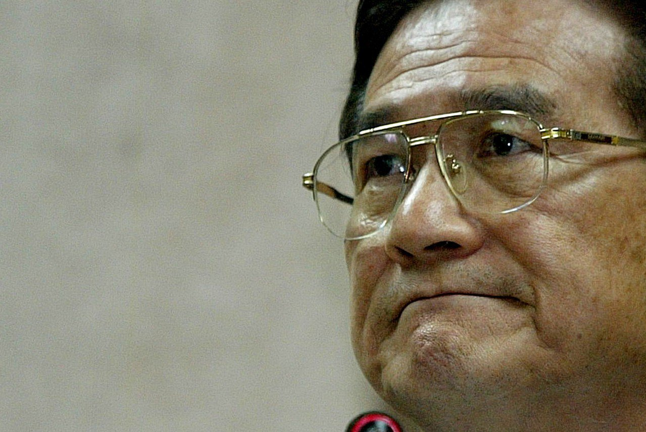 蔡明憲在扁政府的最後三個月任期中接任國防部長。 圖/聯合報系資料照片