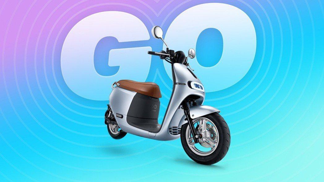 Gogoro 2 Delight 除了更符合人體工學使用外,在色彩運用上以香檳金...