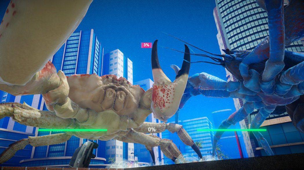 《鬥蟹俱樂部》就是一群甲殼類的戰爭。