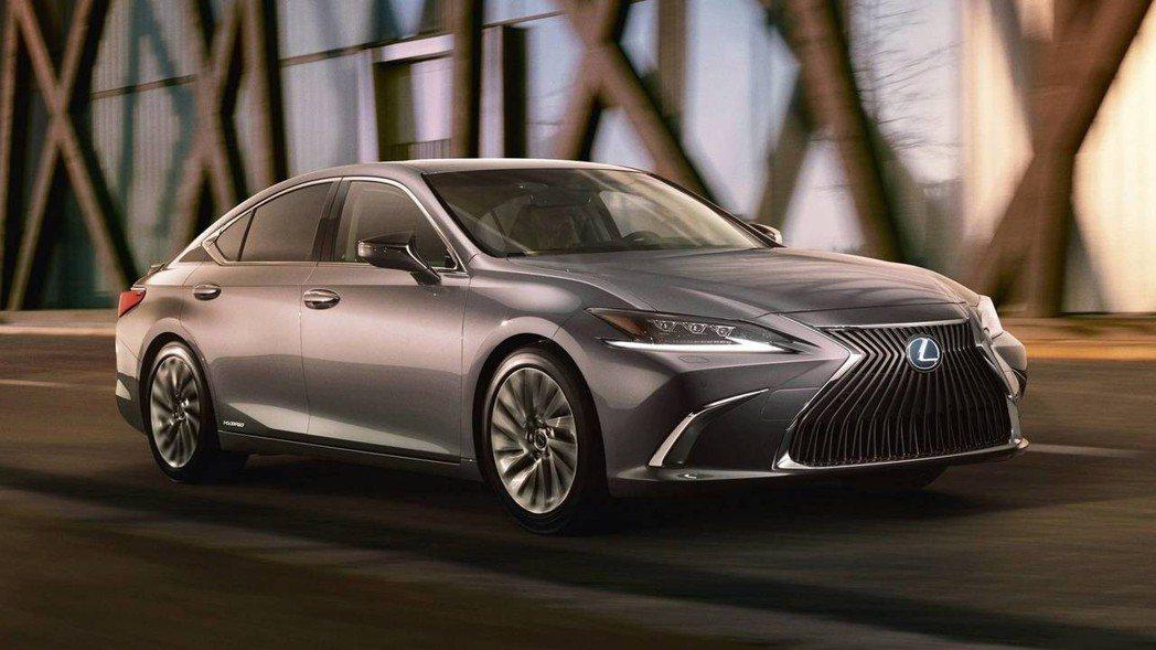 全新、大改款Lexus LS,日前已於北京車展中發表。 摘自Lexus