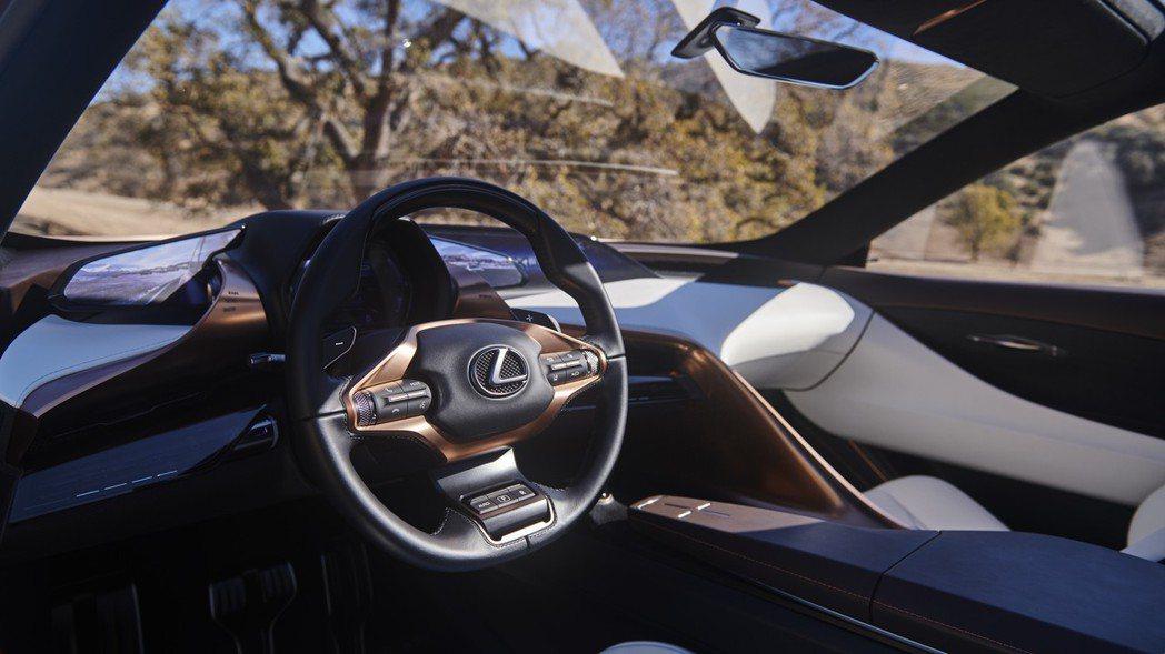 Lexus LF-1 Limitless Concept 內裝。 摘自Lexus