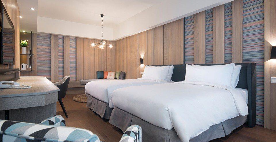 標準雙床房。(圖片提供/礁溪山形閣溫泉飯店)