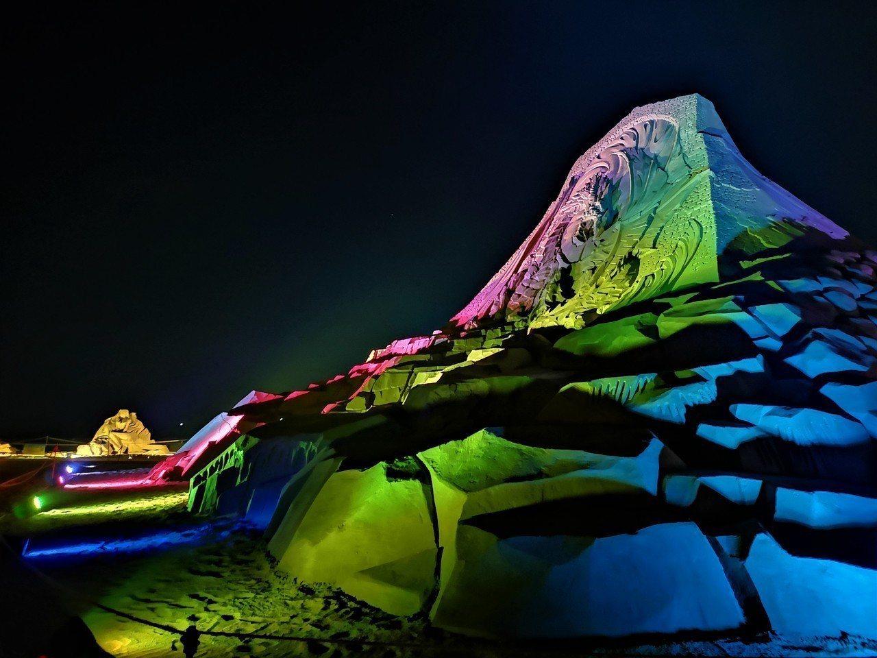 福隆國際沙雕藝術季6月1日起至7月15日止,為期45天的展期,每天晚上7點到9點...