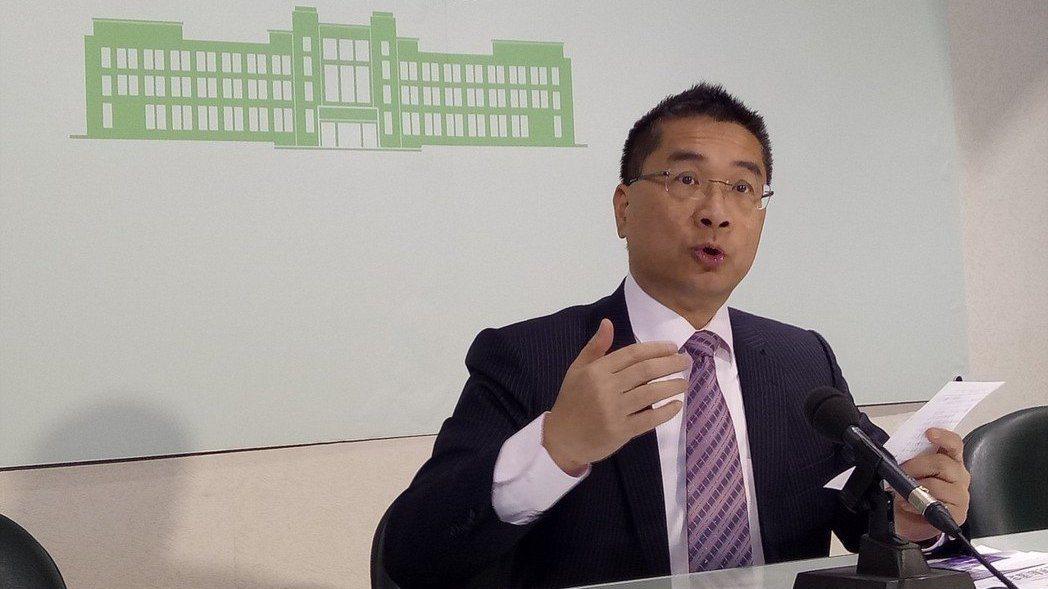行政院發言人徐國勇。 報系資料照