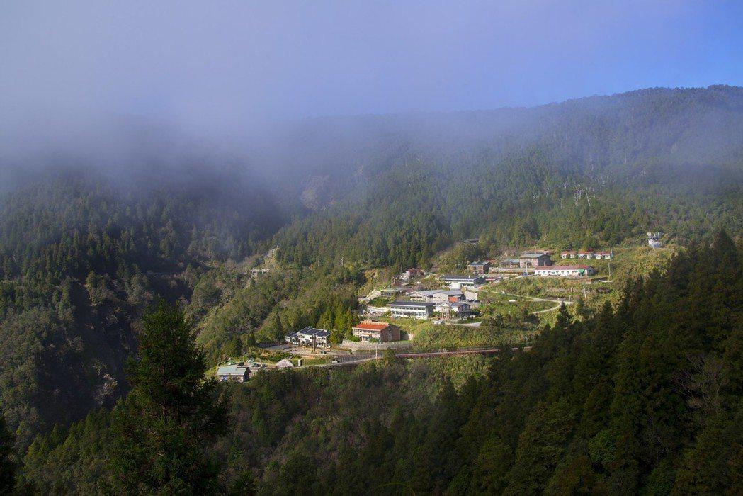 太平山遊樂園區餐飲店使用的米,獲得官方認證,在超高海拔仍堅持提供高品質飲食。圖/...