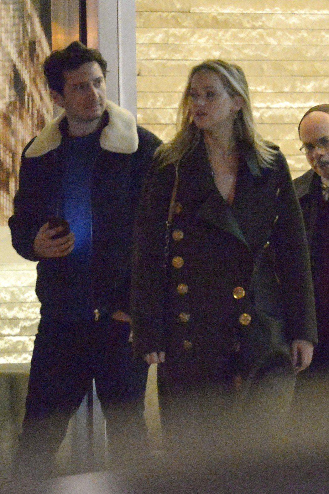 珍妮佛勞倫斯和金史塔普尼斯基被拍到約會。圖/達志影像