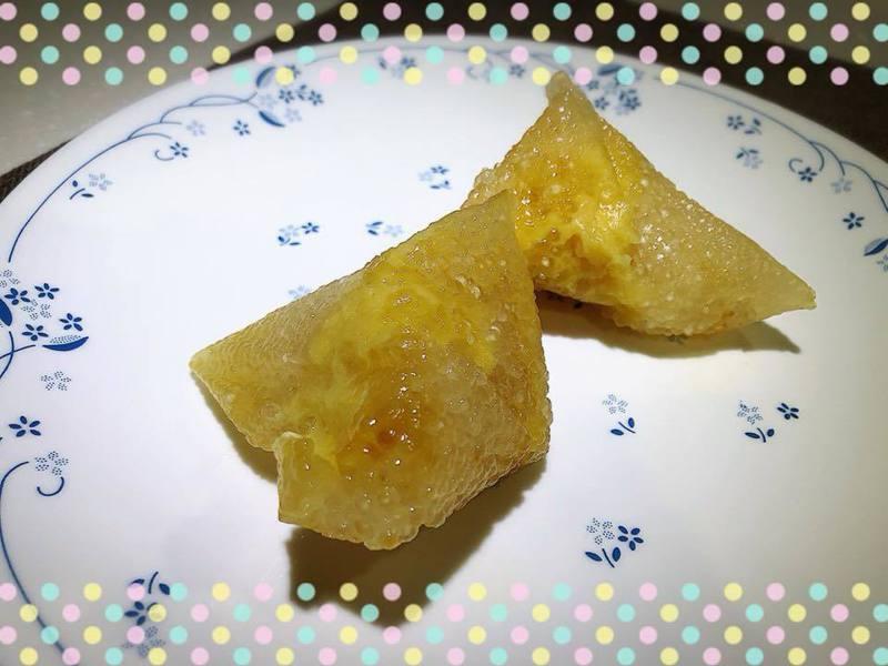 西谷米水晶粽。圖/陳蓁提供