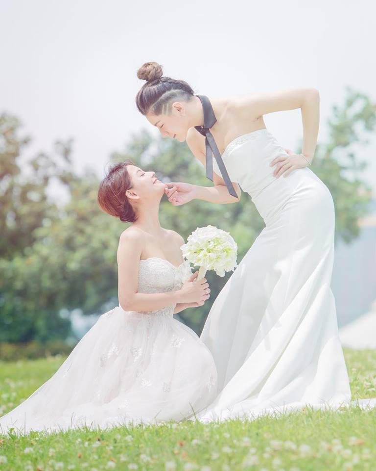 王樂妍、小蠻演出舞台劇「偽婚男女」。圖/故事工廠提供