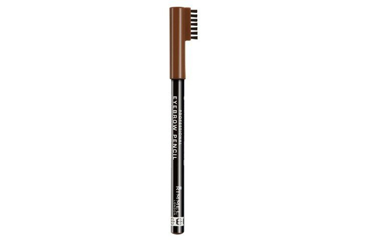 Rimmel倫敦芮魅就是有型顯色眉筆,售價150元。圖/RIMMEL提供
