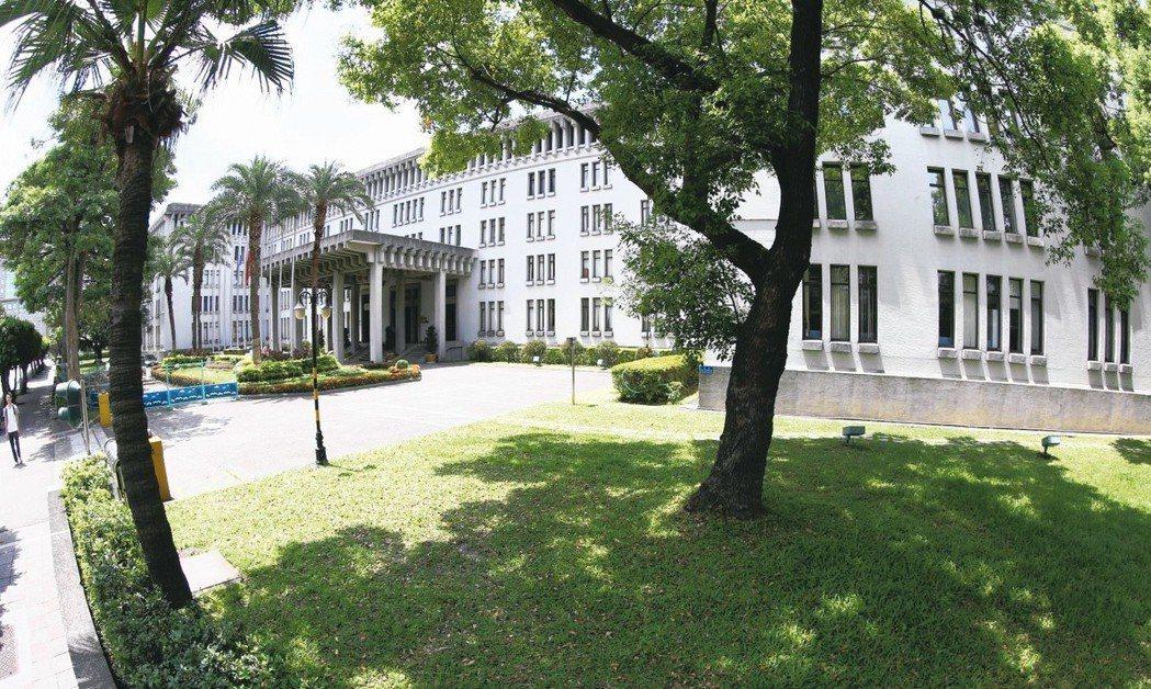 外交部是建築師王大閎的作品之一。 圖/聯合報系資料照片