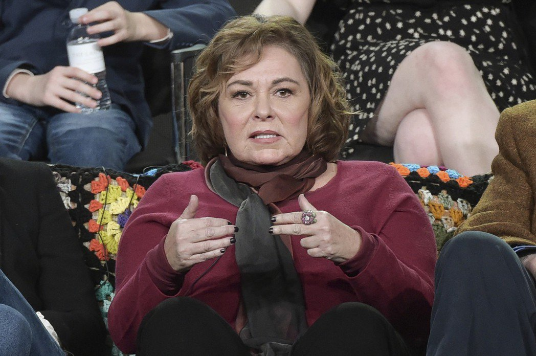 美國女星羅珊巴爾。 圖/美聯社