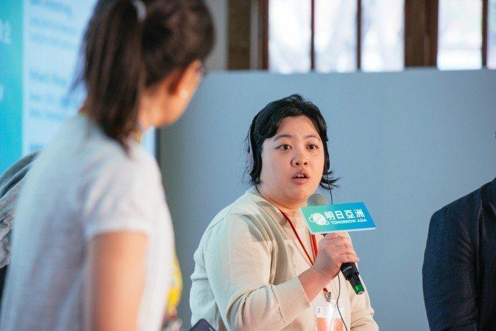 鮮乳坊共同創辦人林曉灣相信產品要保持高品質。 圖/社企流提供