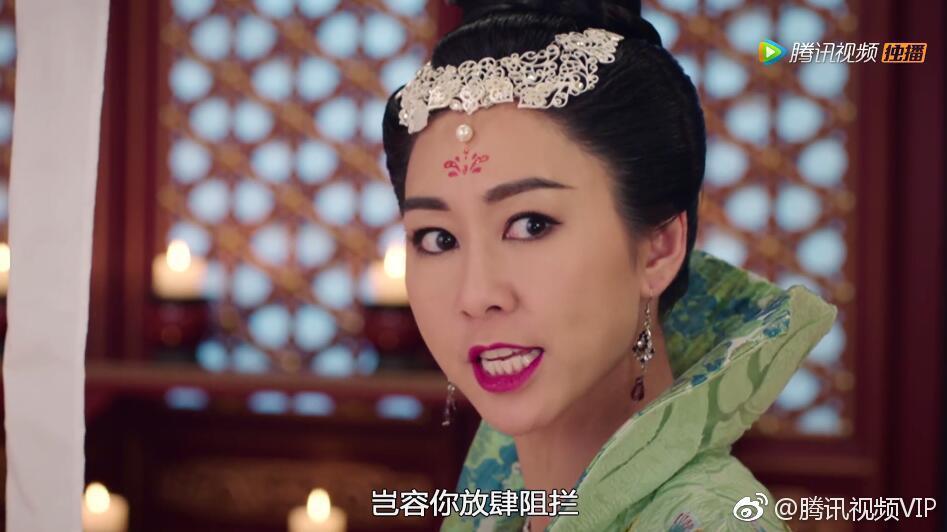胡定欣演出「宮心計2:深宮計」。圖/擷自騰訊視頻VIP微博