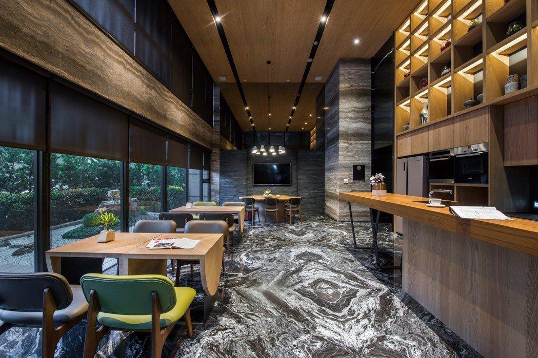 多功能交誼廳可做為宴客使用。 圖片提供/都市建設