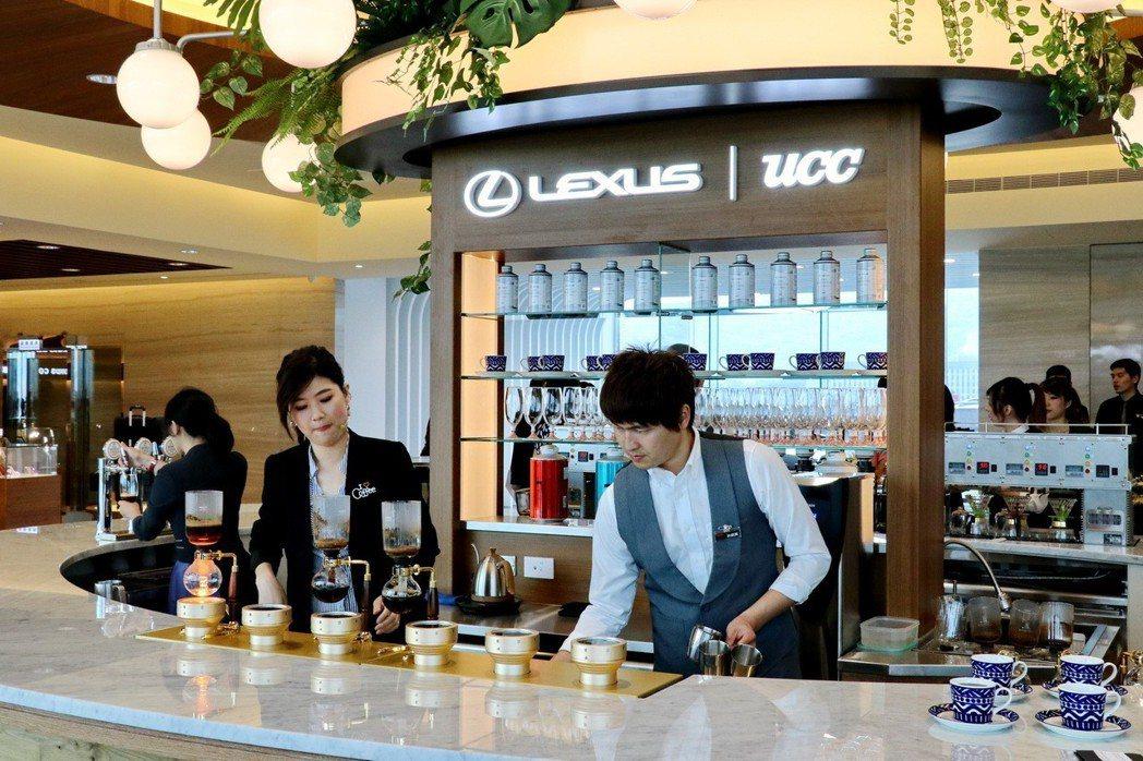 全新濱江據點與UCC合作,引進旗下頂級咖啡COFFEE LOVER's PLANET (CLP)概念。 記者陳威任/攝影