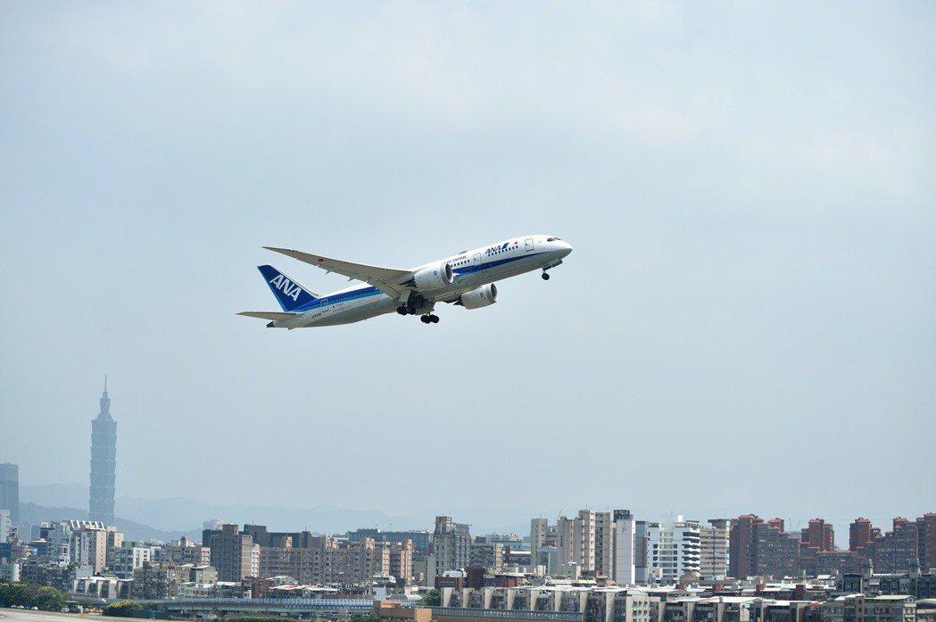 LEXUS濱江據點可以看到松山機場飛機起降景色。 圖/和泰汽車提供