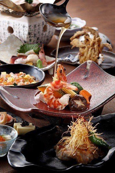 舞饌日式料理「心舞會席」新菜色。 綠舞飯店/提供