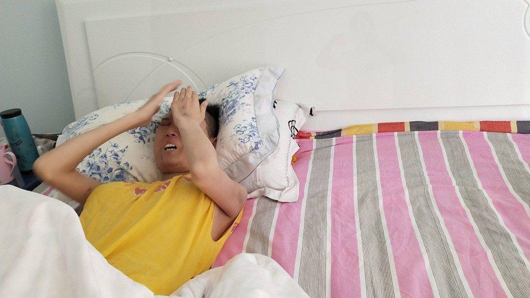 趙晴年紀輕輕就罹患血癌,被病魔摧殘得相當痛苦。(圖/翻攝自騰訊新聞)