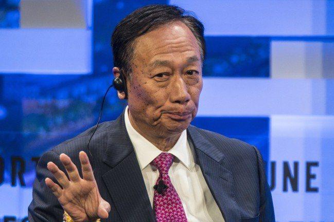 鴻海集團總裁郭台銘。 報系資料照