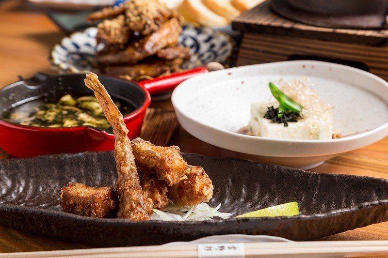 季節小菜來自澎湖野生魚製成魚唐揚