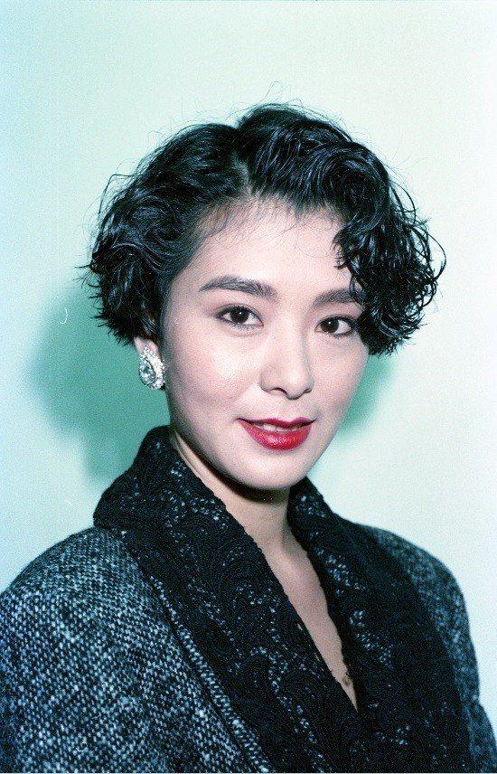 夏文汐曾是台灣片商爭搶的當紅女星。圖/本報資料照片